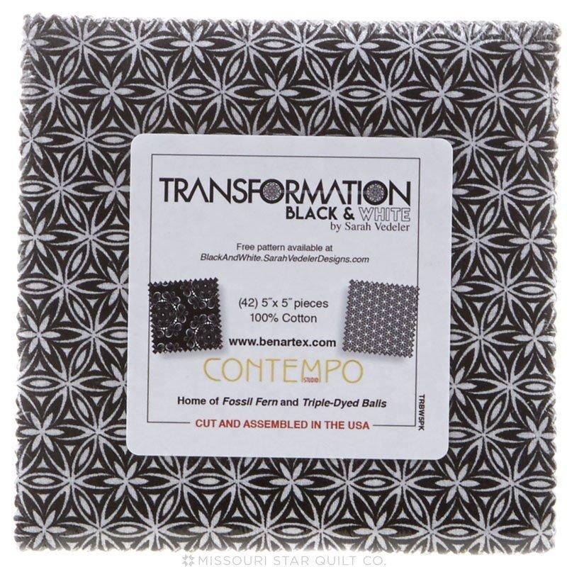Transformation Black/White 5X5 Pack TRBW5PK