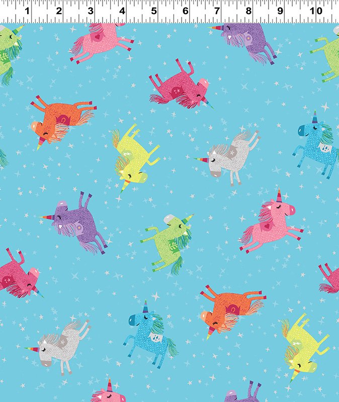 Shine Bright Unicorns by Katie Webb Design