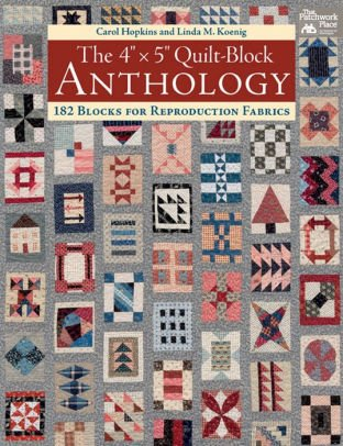 The 4 X 5 Quilt-Block Anthology Book  B1391T