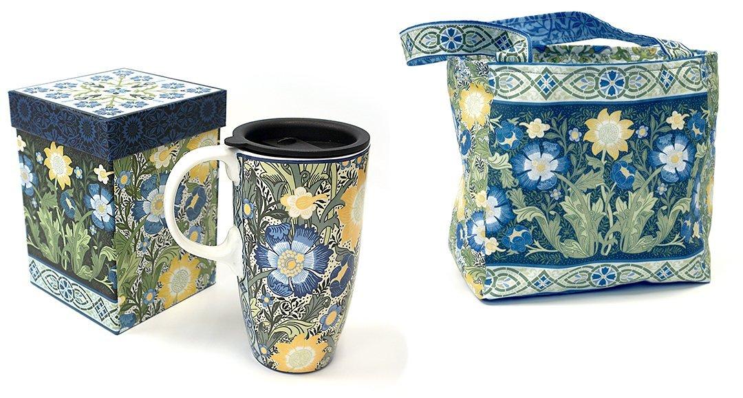In the Beginning Fabric Giftware Travel Mug/Bag -Dear William 200TM-4
