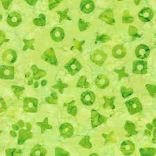 Island Batik - Feline Fine Kibble - Lime 621805615