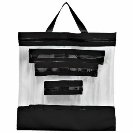 See Your Stuff Clear Bags Set of 4