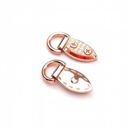 Sallie Tomato Mini Strap Connectors Copper  STS159C