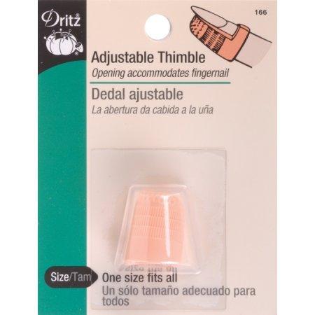 Dritz Quilting Thimble Adjustable 166