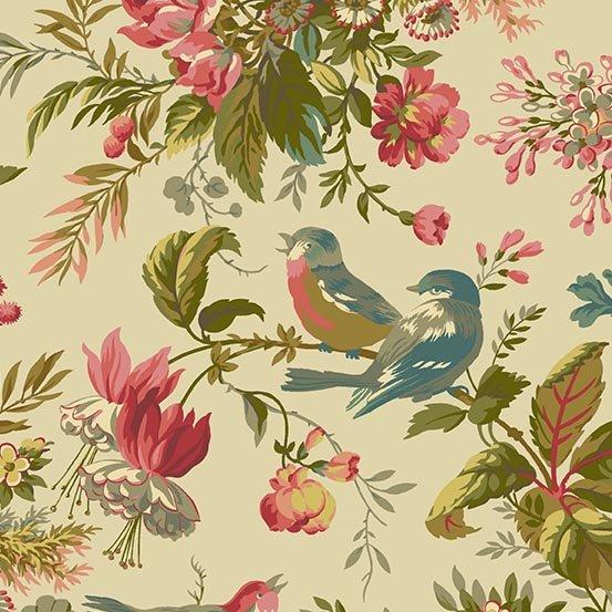 Andover Fabrics Sequoia Foliage Day A 8750 L