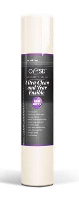OeSD Ultra Clean & Tear Away Fusible 15x10yd 7-15