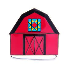 Pins and Charms Red Barn Charm Holder Just Charming!