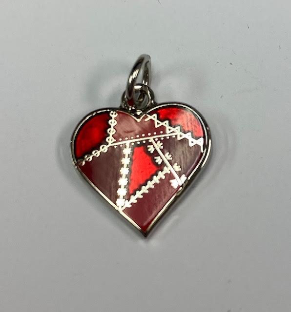 Pin Peddlers Just Charming!  Patchwork Heart
