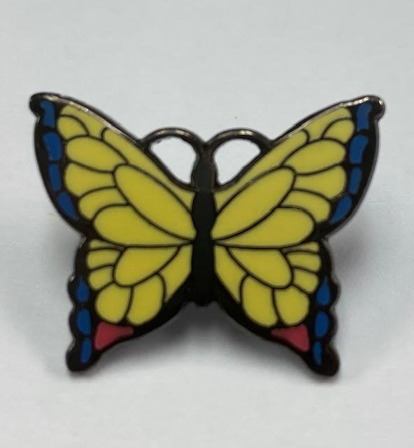 Pin Peddlers Butterfly Push Pin