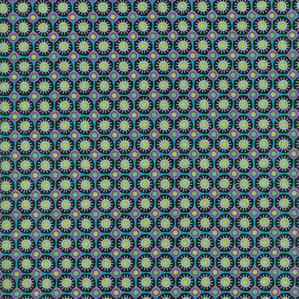 RJR Fabrics Bloom Crazy Teal 1634 002