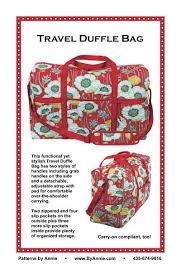 Patterns by Annie Travel Duffle Bag PBA203