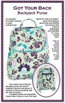 Patterns by Annie Got Your Back Backpack Purse PBA198