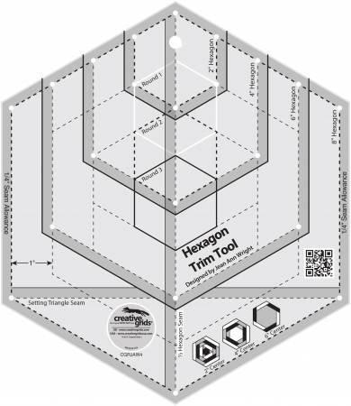 Creative Grids Hexagon Trim Tool CGRJAW4