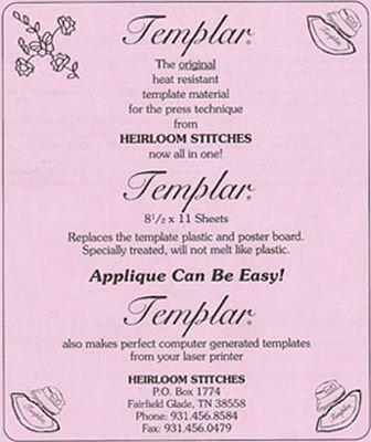 Templar  Heat Resistant Template Material