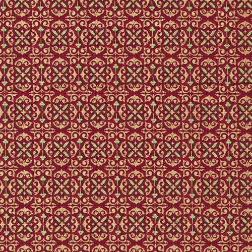 Paintbrush Studio Tis The Season Foulard Red 120-7752