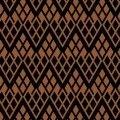 Camelot Fabrics Black & Tan Chevron  2141802 03
