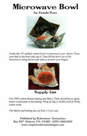 Microwave Bowl Pad Ursula Fury