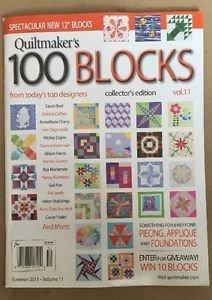 Quiltmaker's 100 Blocks Magazine  V 11&12