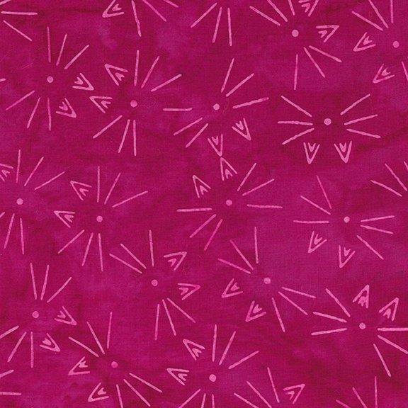 Island Batik - Feline Fine - Whiskers Magenta 621803340