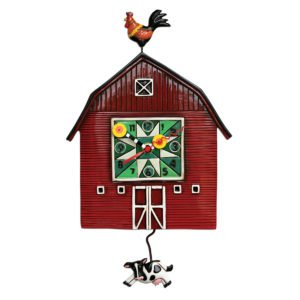 Allen Designs Barn Yard Clock P1664