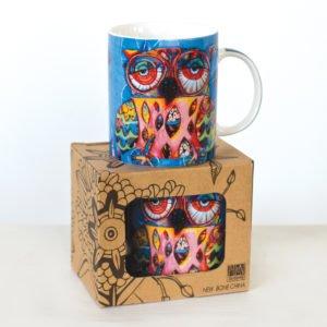 Allen Designs Owl Small Mug CM248