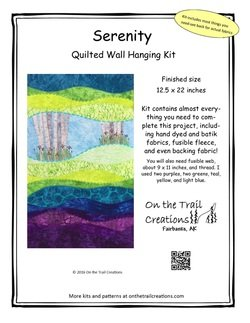 Serenity Quilted Wall Hanging Kit