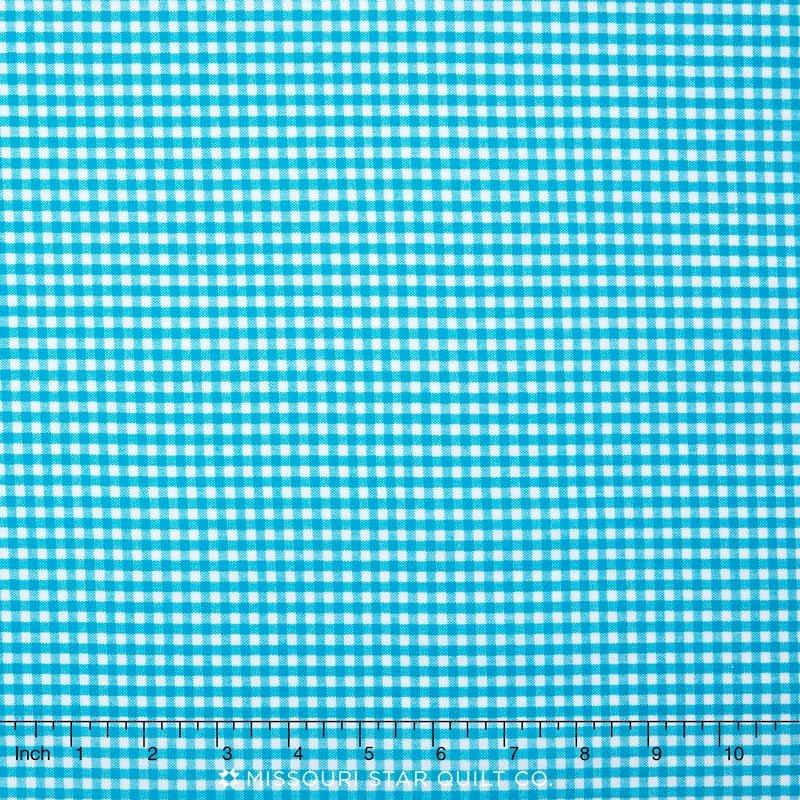 Robert Kaufman Fabrics Carolina Gingham  P-5689-10 Turquoise