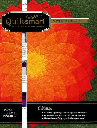 Quiltsmart Dahlia Classic Pack Pattern & Template QS20001