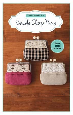 Bauble Clasp Purse Kit by Zakka Workshop