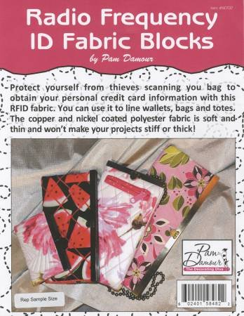 Radio Frequency ID Protection Fabric by Pam Damour
