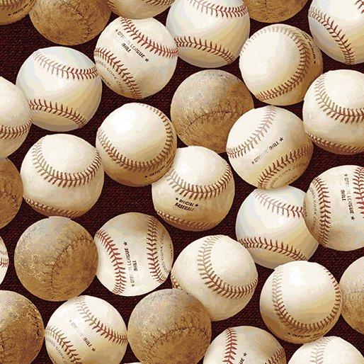Benartex Play Ball 2607 10 Red