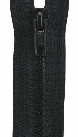 Coats & Clark Sport Closed Bottom Zipper 7in Black