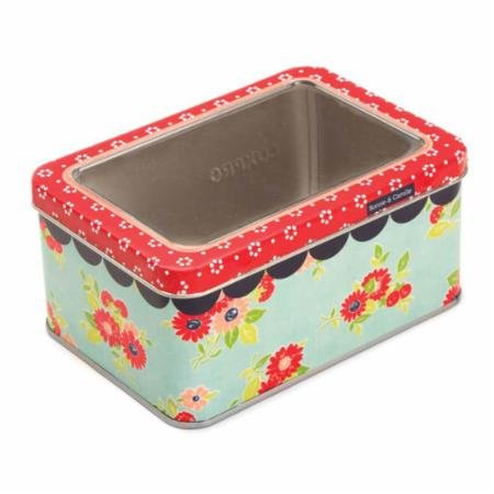 Tin Hinged Box With Window - Moda Bonnie & Camille