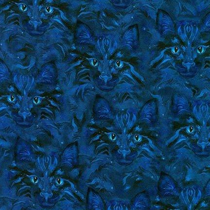 Robert Kaufman Fabrics Be Pawsitive ABKD-18348-69 Cat