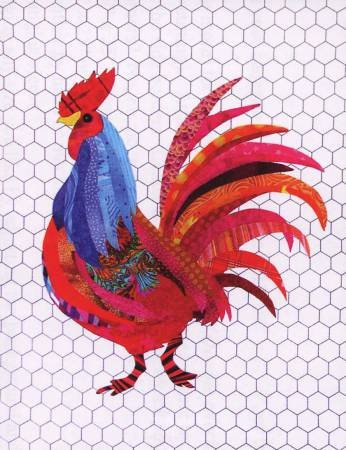 Florine Johnson Designs Rooster Pattern