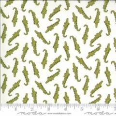 Moda Animal Crackers Brushed Cotton 5802 15B Alligators