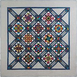 Stargazing BOM Quilt Pattern by Quail Valley Quilts