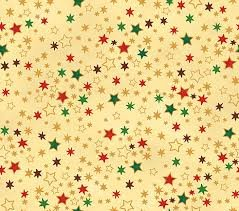 Stof Brilliant Christmas Stars