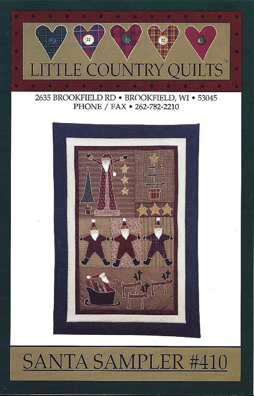Santa Sampler # 410 Little Country Quilts