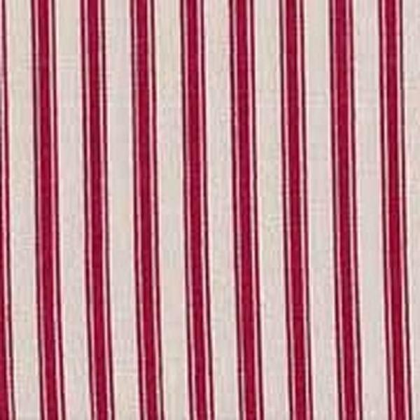 Ticking Stripe Red