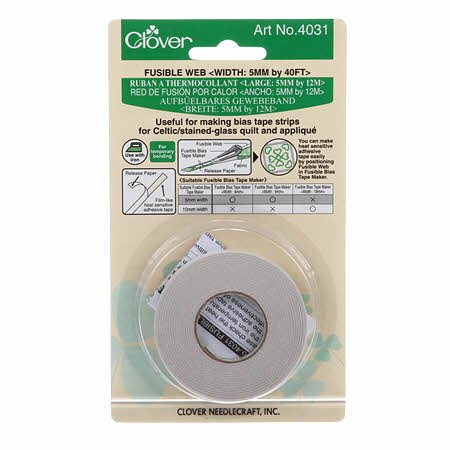 Clover Fusible Web 5mm