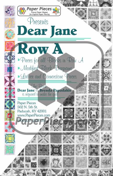 Dear Jane Quiltalong Paper Piece Packs