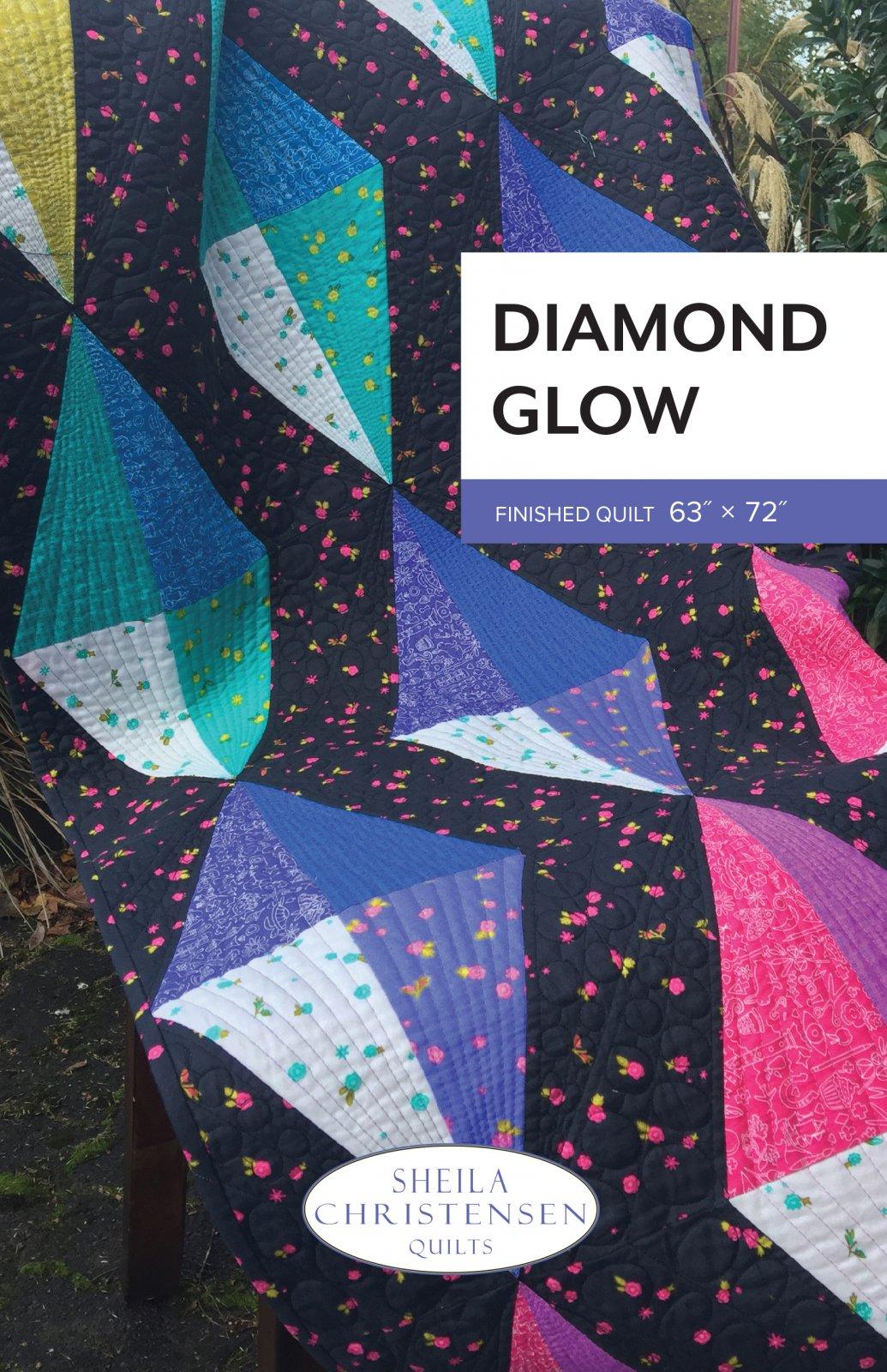 Diamond Glow Quilt Pattern