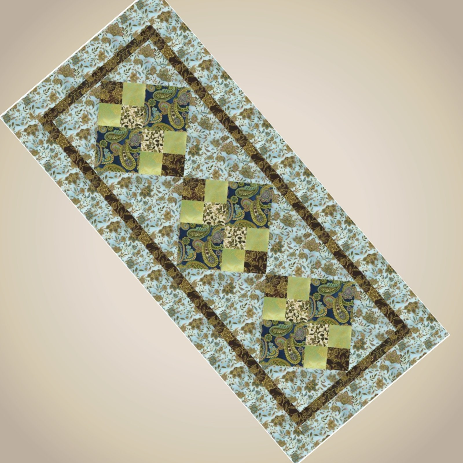 Elegant Table Runner - Pattern