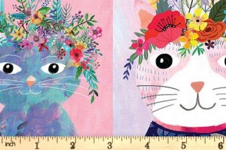 Floral Pets Kitty