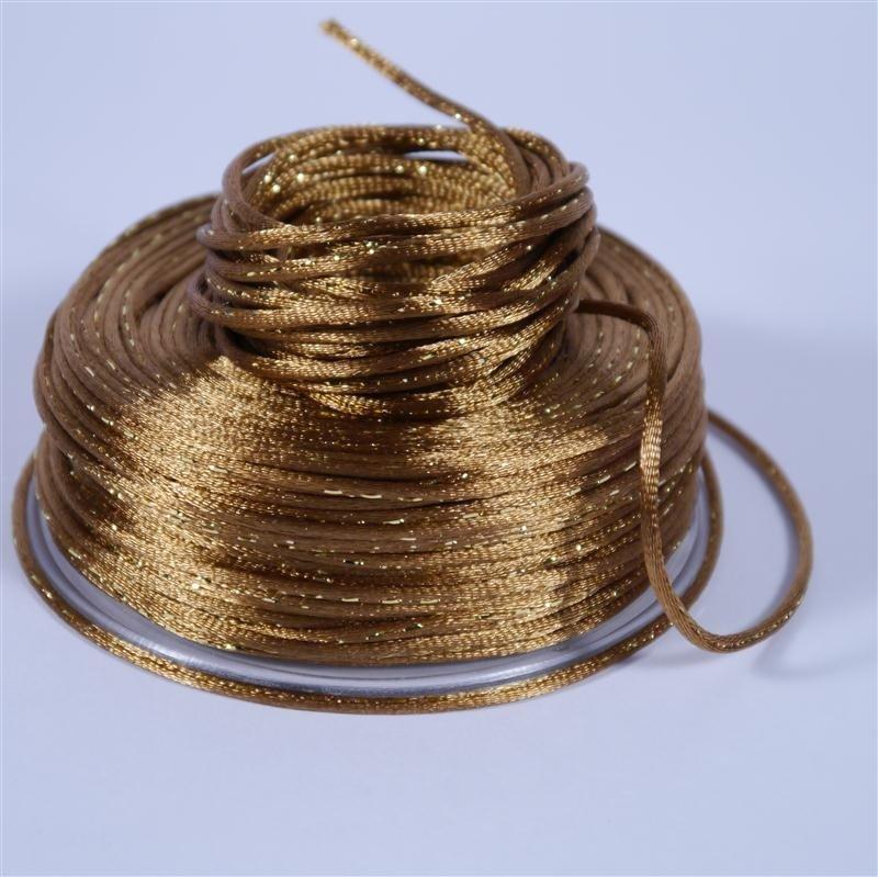 Glitter Cord Gold 2mm