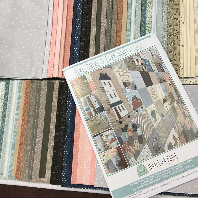 Here There and Everywhere by Anni Downs Fabric Pack