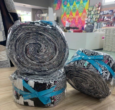 Tula Pink Jelly Roll Line works