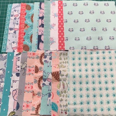 Down on the Farm 40 x 5 Charm Squares