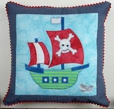 Pirate Cushion Pattern